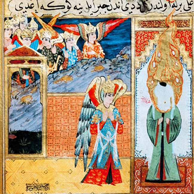 Imagery in Islam- depiction of Muhammed?