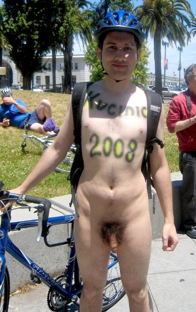 World Naked Bike Ride 2007 in San Francisco
