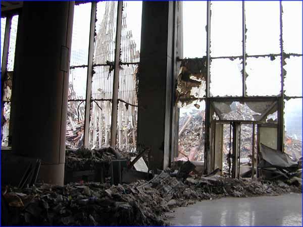photos were taken at ground zero the world trade center
