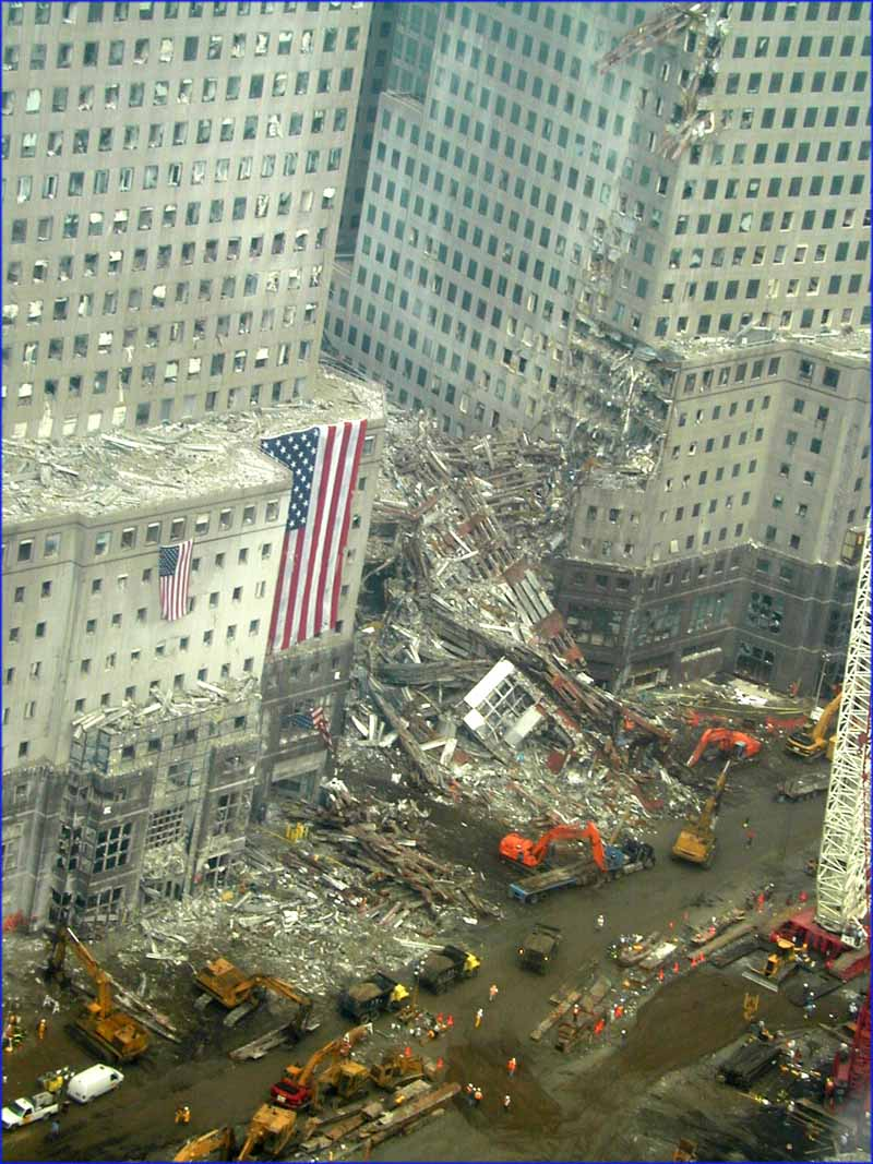 World Trade Center Around September 21 2001
