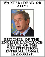 Bush die die die fucking george hate i