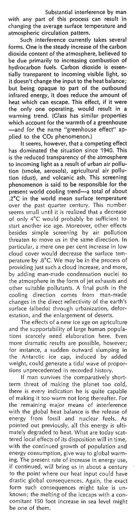 "John Holdren in 1971: ""New Ice Age"" Likely Global Ec 76 7 fullquote"