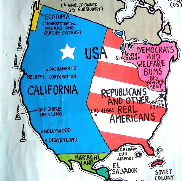 politics maps ronald reagan - photo #15