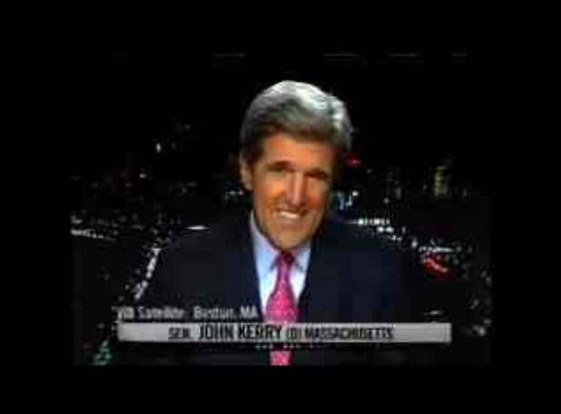 201078e38a2 The picture above shows John Kerry as he was being interviewed by Bill  Maher in October of 2006 on the HBO show Real Time. As can be seen in this  video ...